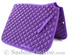 Premium Padded All Purpose English Purple Horse Saddle Pad [B9500] (Out Of Stock)