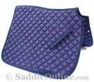 Premium Padded Navy Blue All Purpose English Horse Saddle Pad [B9502] (Out Of Stock)