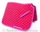 Premium Padded Pink All Purpose English Horse Saddle Pad [B9503] (Out Of Stock)