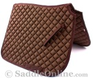 Premium Padded Brown Australian Stock Horse Saddle Pad [B9504A] (Out Of Stock)