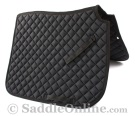 Premium Padded Black All Purpose English Horse Saddle Pad [B9505] (Out Of Stock)