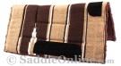 Brown Tan Navajo Acrylic Fleece Western Horse Saddle Pad 32x32[B9522] (Out Of Stock)