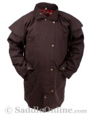 New Men Womens Oilskin Duster Coat S 5XL [C0022]