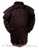 New Men Womens Oilskin Duster Coat S [C0023] (Out Of Stock)