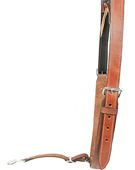 Chestnut Tan Natural Leather Saddle Back Cinch [G0081]