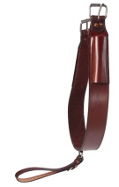 Premium Brown Smooth Leather Rear Cinch [G0104]