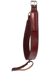 Dark Brown Premium Leather Rear Back Cinch [G0107]