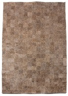 Giraffe Pattern 5X8 Cow Skin Leather Cowhide Rug Carpet [R0320]