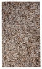 Giraffe Pattern 5x8 Cow Skin Leather Cowhide Rug Carpet [R0321]