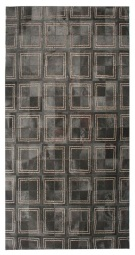Contemporary 5x8 Cow Skin Leather Grey Cowhide Rug Carpet [R0328]