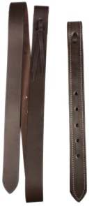 Western Saddle Brown Leather Latigo Off-Billet Cinch Strap [T0171] (Out Of Stock)