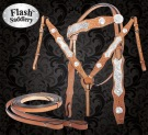 Shine On Elite Show Western Horse Tack Set By Flash [T0385] (Out Of Stock)