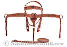 Crystal Cross Western Horse Premium Leather Tack Set SALE [T8284] (Out Of Stock)