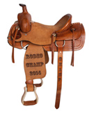 Western Custom Trophy Ranch Saddle [Trophy]