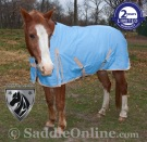 1200D Blue Turnout Waterproof Winter horse blanket 70 72 [WB0188] (Out Of Stock)