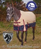 Tan Waterproof Turnout Winter Horse Blanket 1200D 70 80 [WB0191] (Out Of Stock)