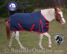 Navy 1200D Waterproof Turnout Winter Horse Blanket 70 72 [WB0195] (Out Of Stock)