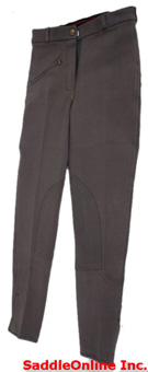 New 22-36 Charcoal Grey Cool Cotton Riding Breeches / Pants [c0105]