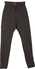 New 22-34 Dark Grey Cool Cotton Riding Breeches / Pants [c0121]