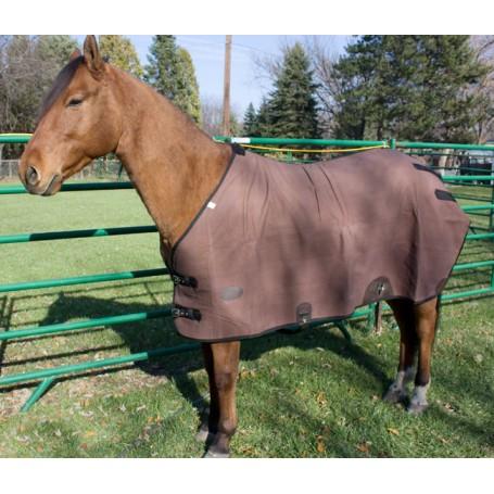 Quality Waterproof Canvas Winter Brown Horse Blanket 68 70