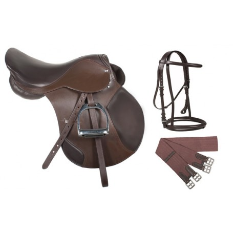 Premium Havana Jumping X-Country English Horse Saddle 17