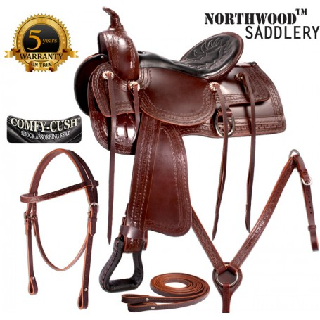 15 Comfortable Old West Trail Endurance Horse Saddle