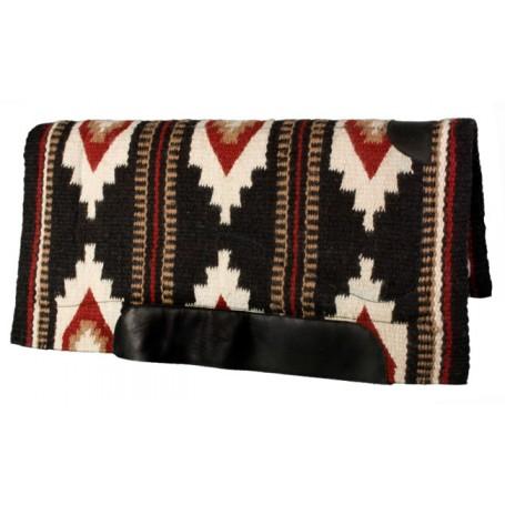 White Black Tan Red Premium NZ Wool Fleece Western Saddle Pad