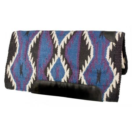 Black Purple Blue Heavy Duty Wool Western Horse Saddle Pad