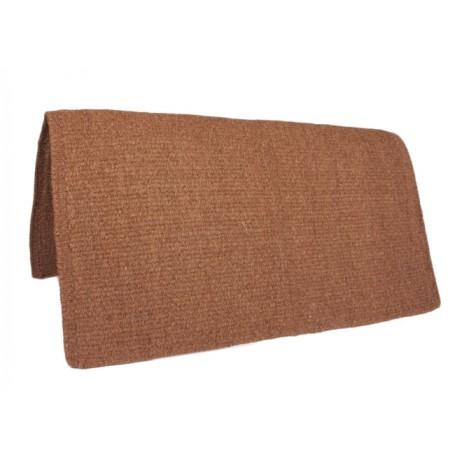 New Brown Zealand Wool Horse Saddle Blanket