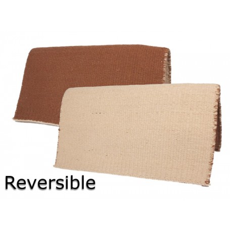 Brown and Tan Show Saddle Reversible Blanket