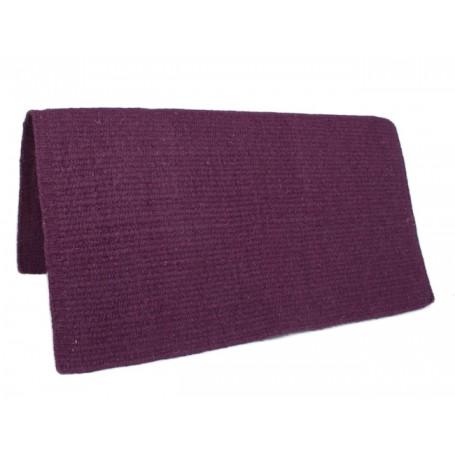 New Aubergine Premium Quality Wool Saddle Show Blanket