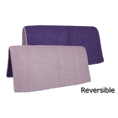New Reversible Purple Show Saddle Blanket