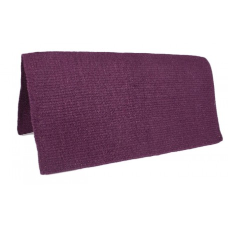 Dark Purple Premium Wool Show Saddle Blanket