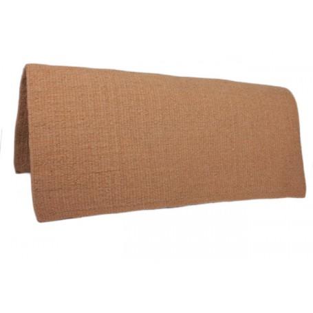 Ginger Orange Premium Wool Show Saddle Blanket