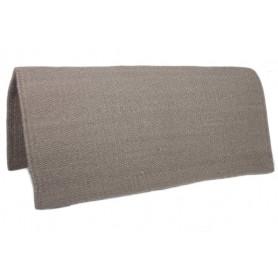 Khaki New Zealand Wool Show Saddle Blanket