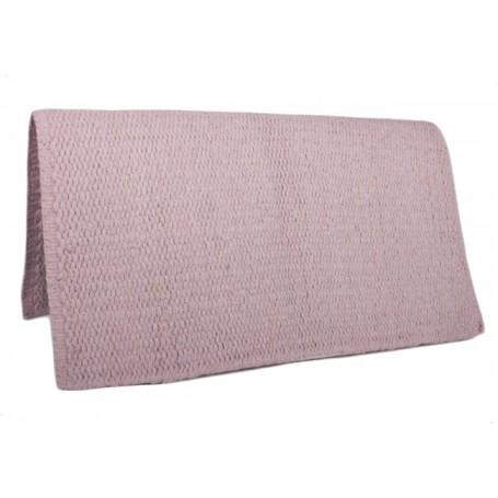 Premium Wool Peach Show Saddle Blanket