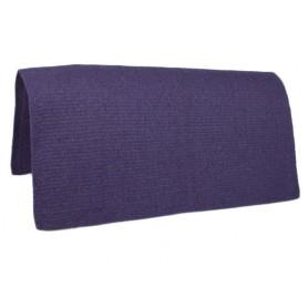New Purple Premium Wool Show Saddle Blanket