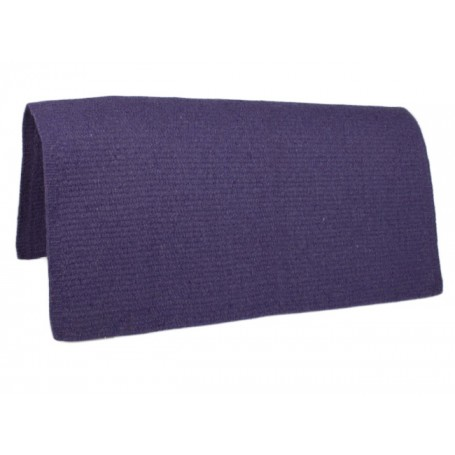 New Purple Premium Wool Show Saddle Blanket