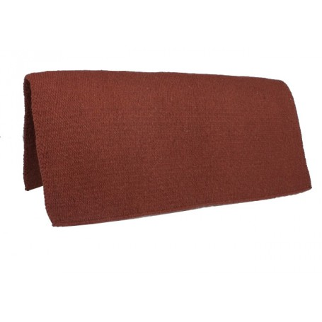 Mahogany Premium Wool Show Saddle Blanket