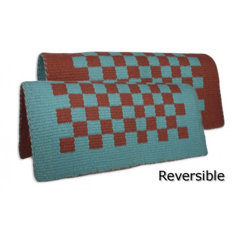 Reversible Checkers Saddle Show Blanket