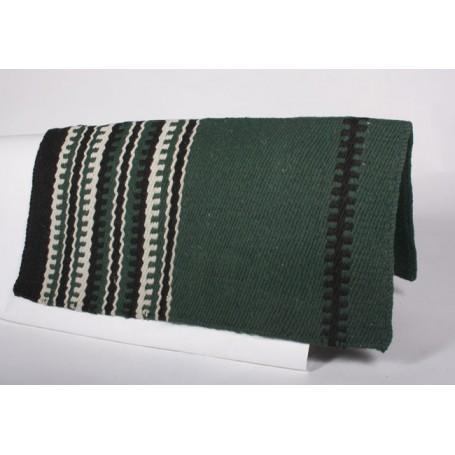 New Zealand Wool Green Saddle Show Blanket