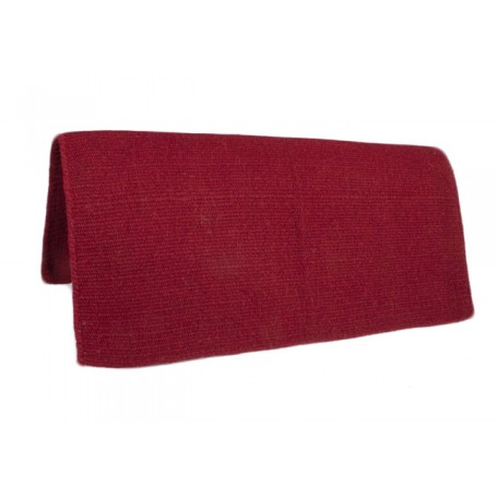 New Zealand Wool Red Show Saddle Blanket