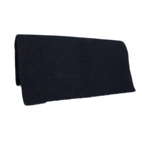 New Zealand Wool Black Show Saddle Blanket