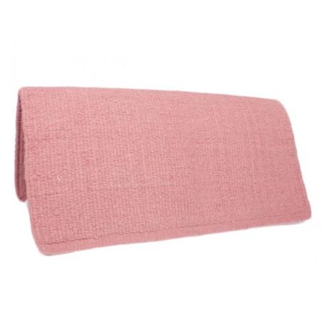 Light Pink Premium Wool Show Saddle Blanket