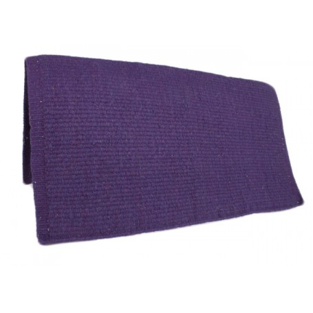 New Zealand Wool Purple Show Saddle Blanket