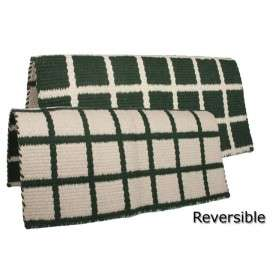 New Zealand Premium Wool Reversible Show Saddle Blanket