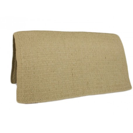 Tan Premium Wool Show Saddle Blanket