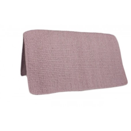 Premium Wool Pink Show Saddle Blanket