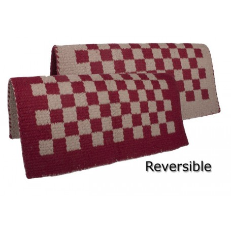 Red with Sand reversible with checkered designed