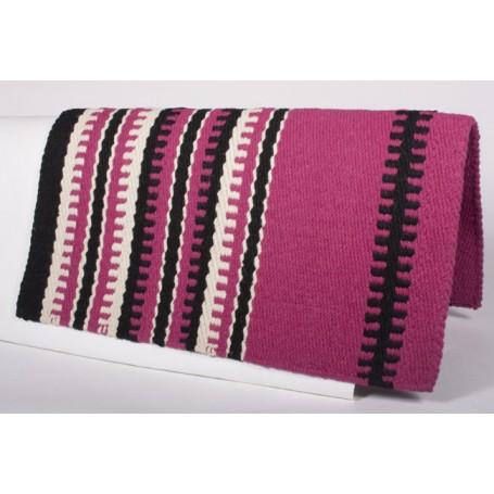 Pink W Design Show Saddle Blanket